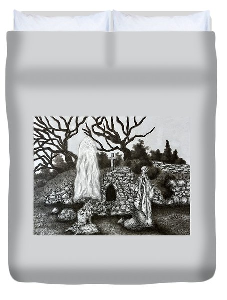 The Holy Well Duvet Cover