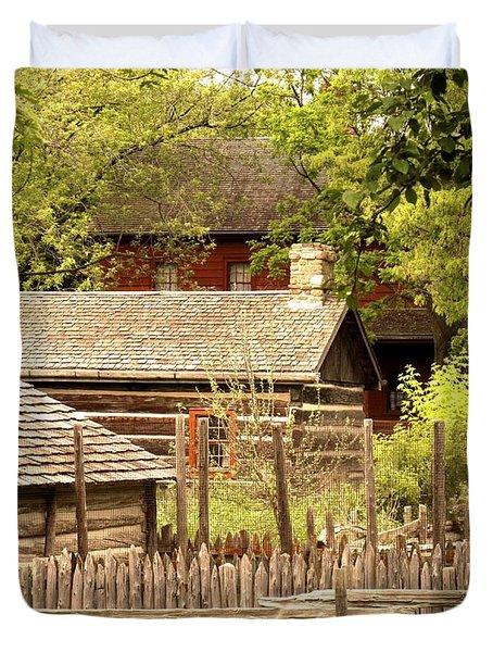 The Homestead Duvet Cover by Ian  MacDonald