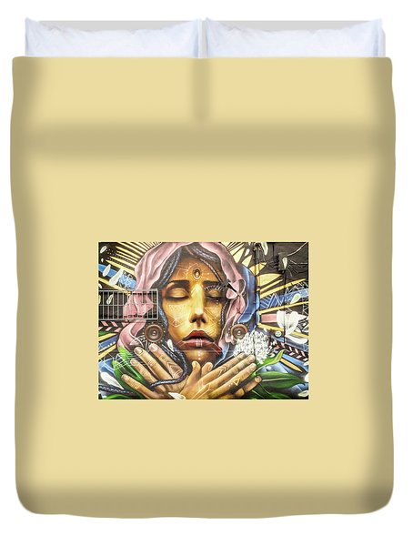 The Hope Of Sorrow Duvet Cover