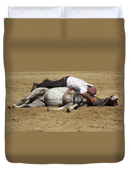 The Horse Whisperer Duvet Cover by Venetia Featherstone-Witty