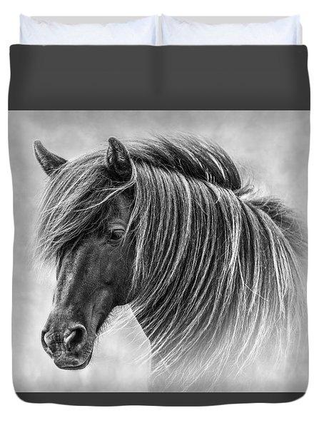 The Horses Of Iceland Duvet Cover