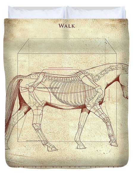 The Horse's Walk Revealed Duvet Cover