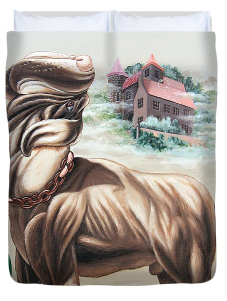 The Hound Of The Baskervilles Duvet Cover