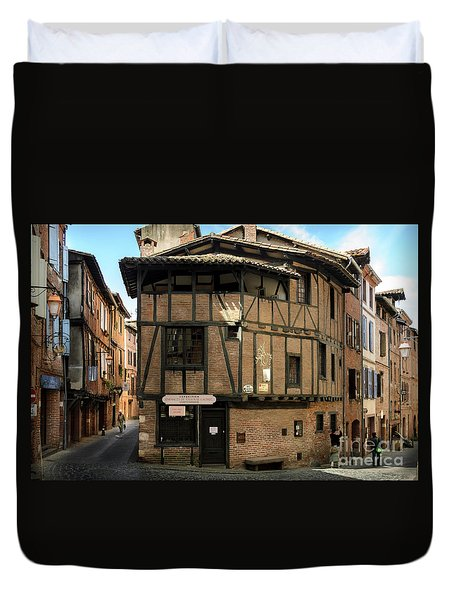 The House Of The Old Albi Duvet Cover by RicardMN Photography