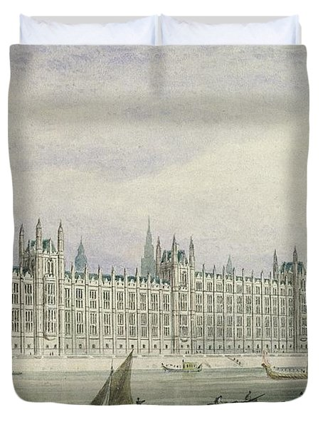 The Houses Of Parliament Duvet Cover