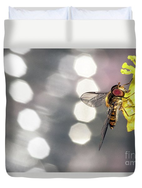 The Hoverfly Duvet Cover
