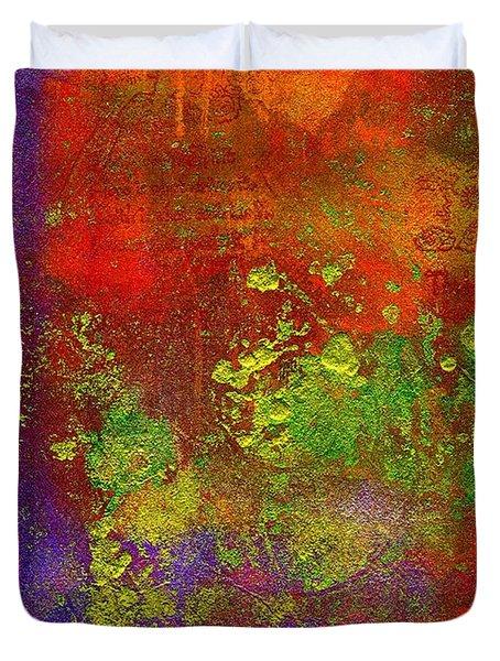 The Human Spirit Duvet Cover by Angela L Walker