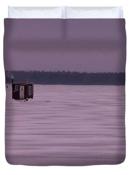 The Hut II Duvet Cover