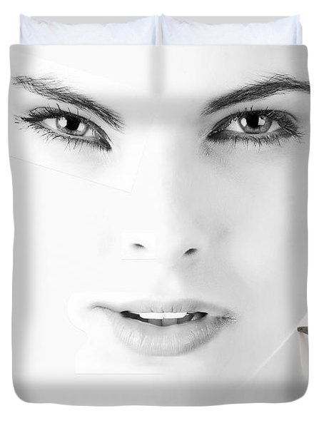 The Illusion Of Perfection Duvet Cover