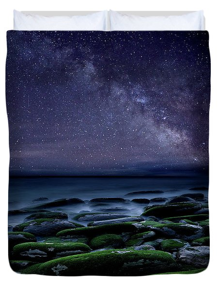 The Immensity Of Time Duvet Cover