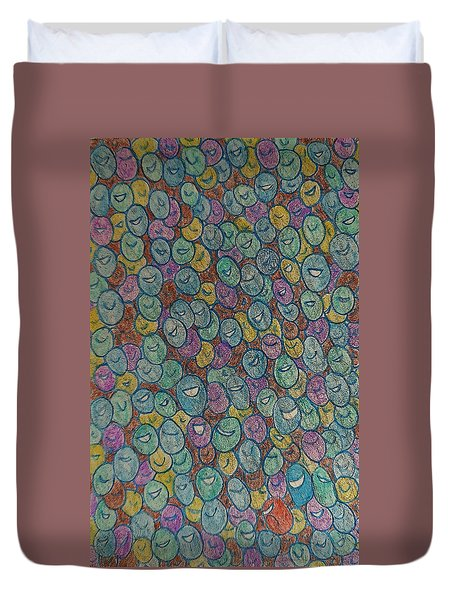 The Immigrant Journey Up Duvet Cover