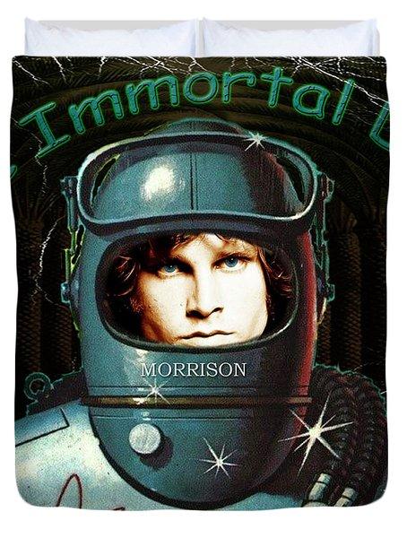 The Immortal Door Duvet Cover