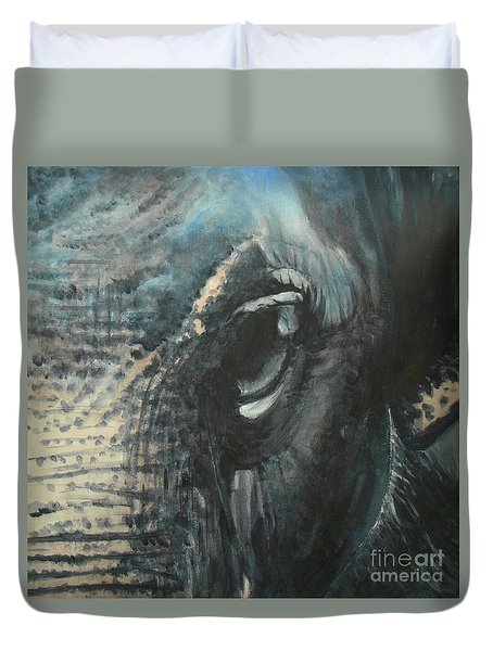 The Incredible - Elephant 4 Duvet Cover