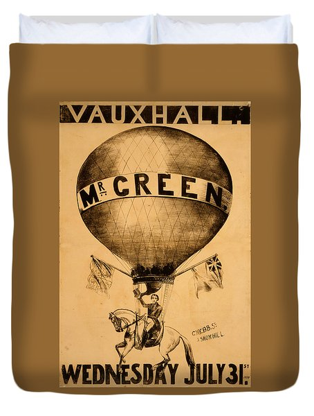 The Incredible Mr. Green Duvet Cover