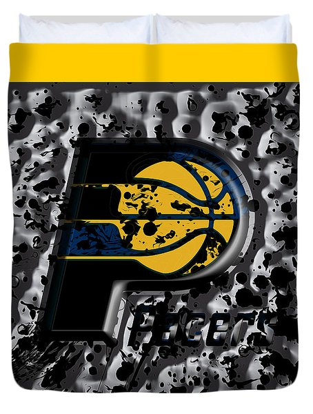 The Indiana Pacers Duvet Cover