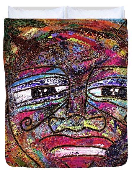 The Indigo Child Duvet Cover