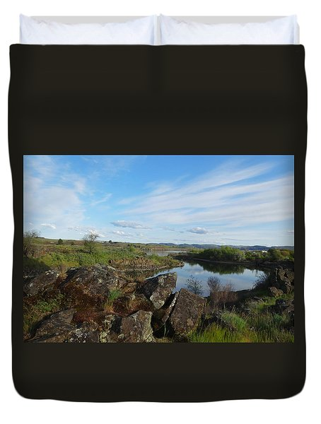 The Inlet Watchers Duvet Cover