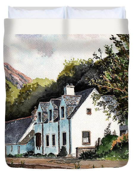 The Inn Scotland Duvet Cover