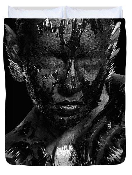 The Inner Demons Coming Out Duvet Cover