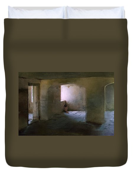 The Inner Place Duvet Cover by Ron Jones