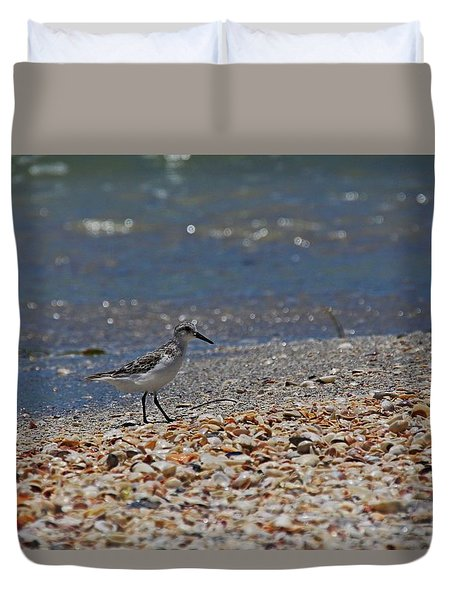 Duvet Cover featuring the photograph The Intellectual I by Michiale Schneider
