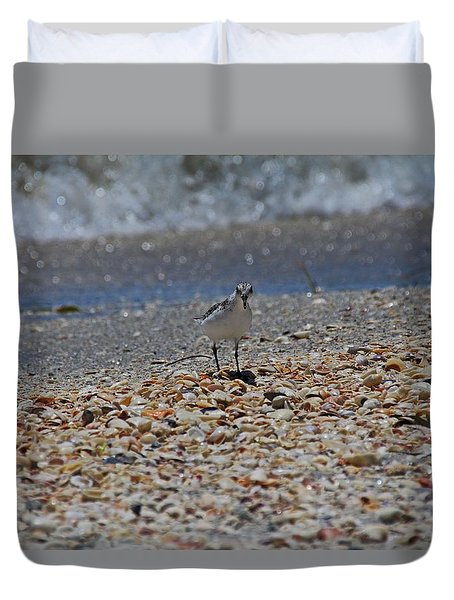 Duvet Cover featuring the photograph The Intellectual II by Michiale Schneider