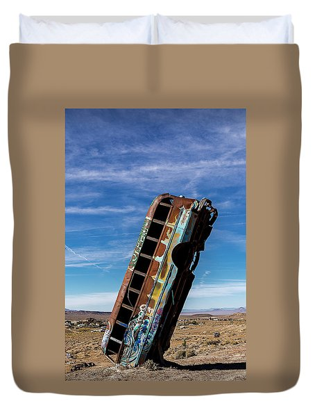 The International Car Forest Of The Last Church 2 Duvet Cover