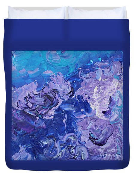 The Invisible Woman Duvet Cover