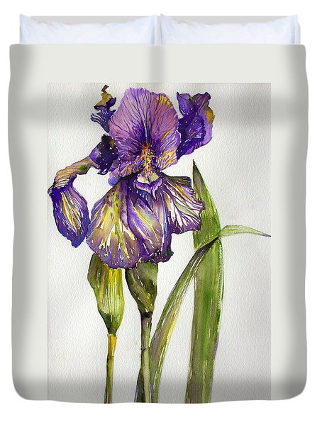 The Iris Duvet Cover
