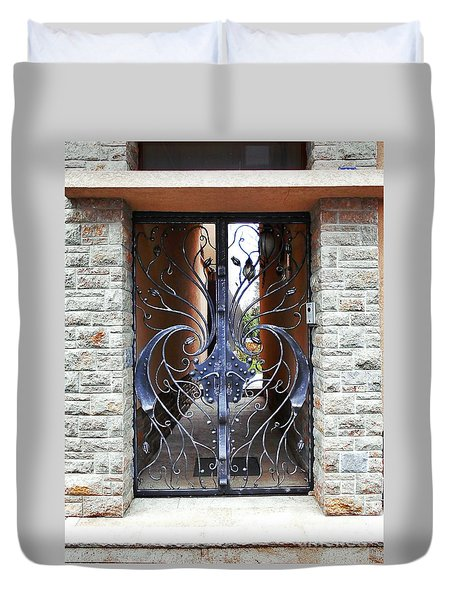The Iron Gate Duvet Cover