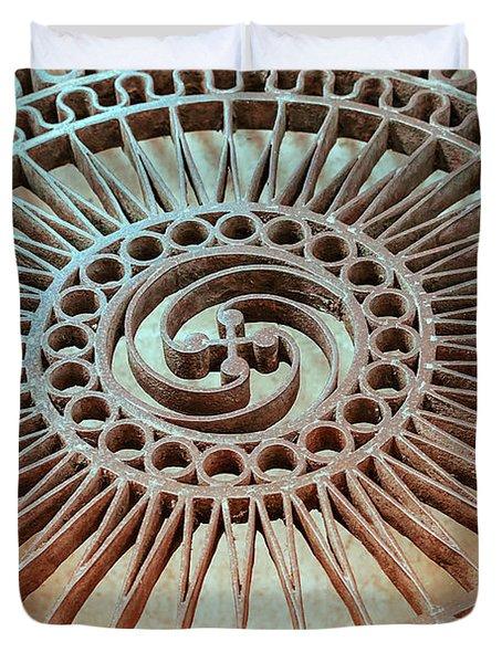 The Iron Lattice Duvet Cover