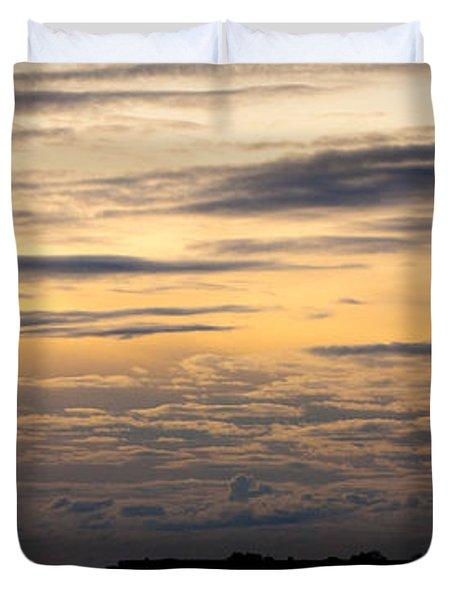 The Island Duvet Cover by Konstantin Dikovsky