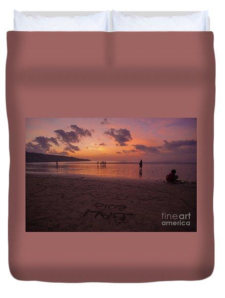 The Island Of God #15 Duvet Cover