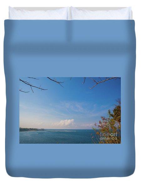 The Island Of God #5 Duvet Cover