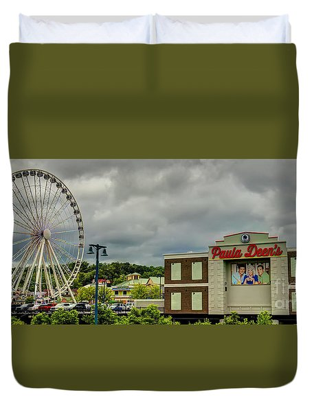 The Island Pigeon Forge Tn Duvet Cover