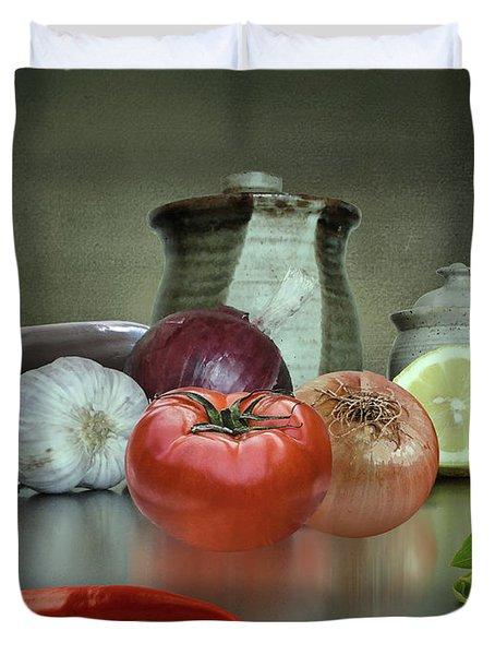 The Italian Kitchen Duvet Cover