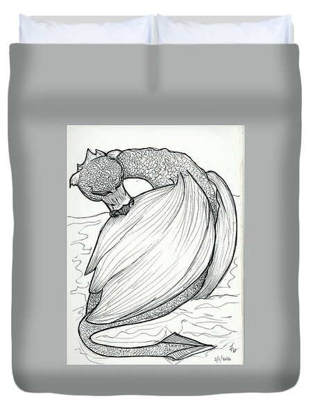The Itch Duvet Cover