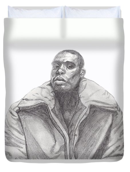 The Jacket Duvet Cover