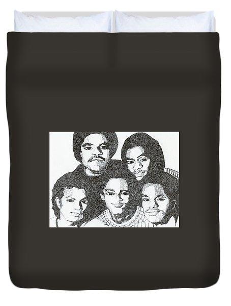 The Jacksons Tribute Duvet Cover