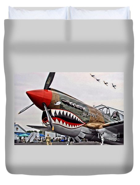 The Jacky C Duvet Cover
