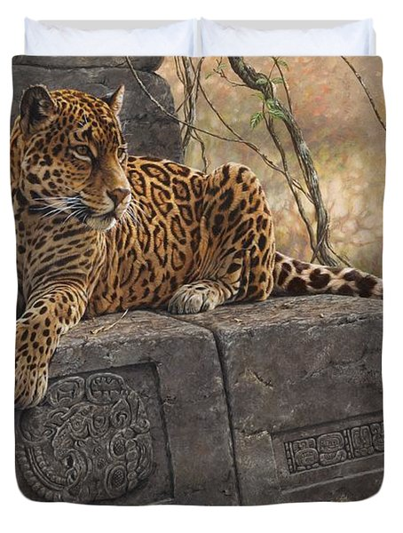 The Jaguar King Duvet Cover