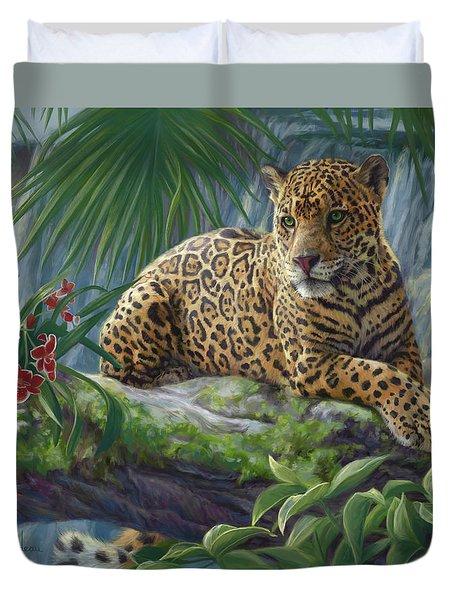 The Jaguar Duvet Cover