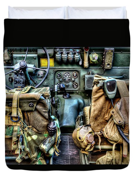 The Jeep 046 Duvet Cover