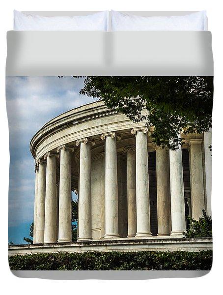 The Jefferson Memorial Duvet Cover