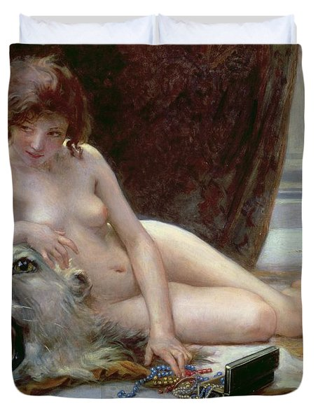 The Jewel Case Duvet Cover by Guillaume Seignac