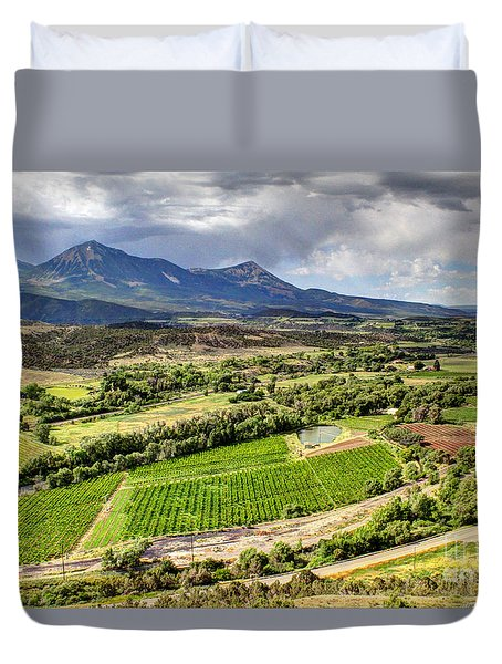 The Jewel Of The North Fork Duvet Cover