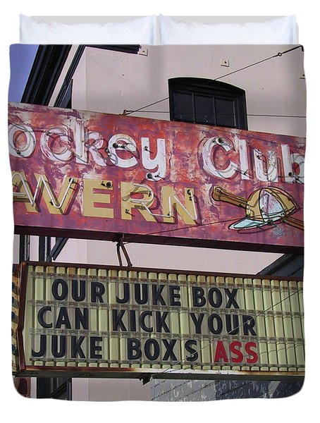 The Jockey Club Duvet Cover