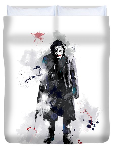 The Joker Duvet Cover by Marlene Watson