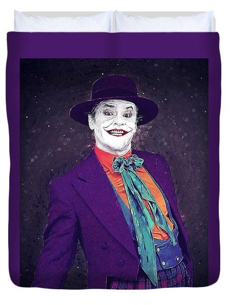The Joker Duvet Cover