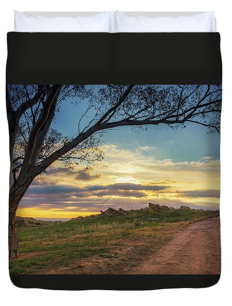 The Journey Home Duvet Cover by Tassanee Angiolillo